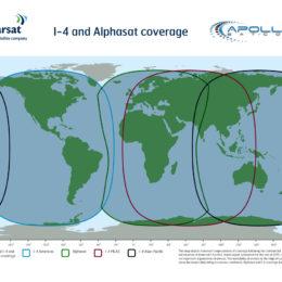 Apollo Inmarsat Alphasat and I-4- coverage