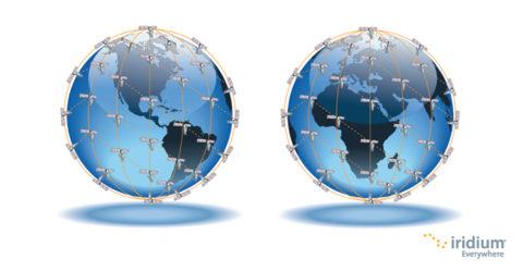 Iridium Network Coverage image