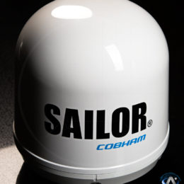 Cobham Sailor FleetOne Satellite Terminal