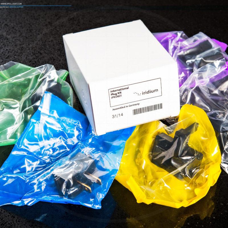 Iridium IPK0601 Plug Kit International Adapters
