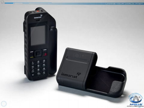 Inmarsat IsatPhone 2 with Leather Holster