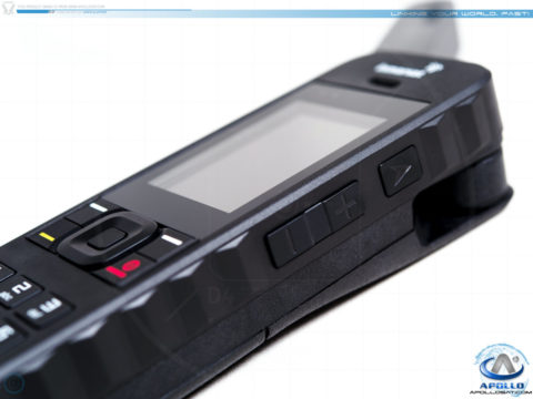 Inmarsat IsatPhone 2 Tracking and Volume Buttons