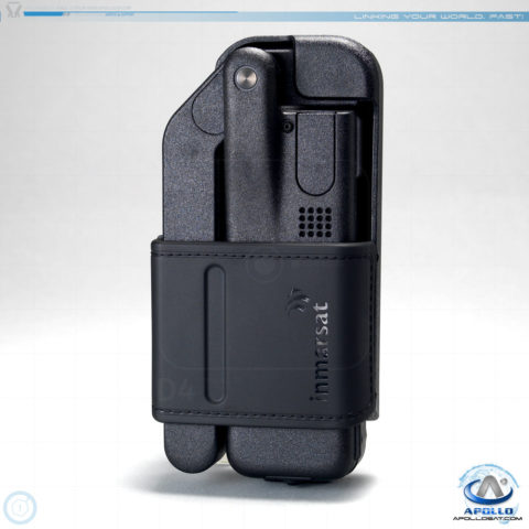 Inmarsat IsatPhone 2 in Leather Holster