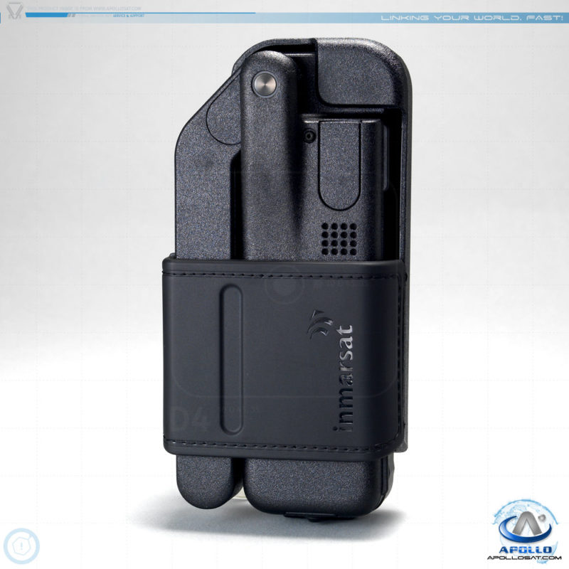 Inmarsat IsatPhone 2 in Leather Holster