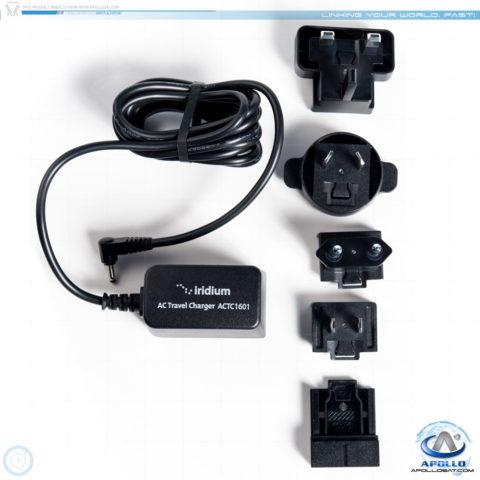 Iridium ACTC1601 AC Charger IPK1601 Plug Kit 9575 9555 9505A