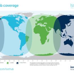Wideye iSavi - IsatHub Coverage Map