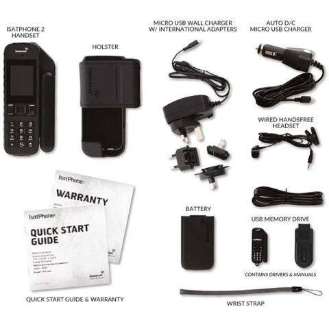 Inmarsat IsatPhone 2 Whats in the Box?