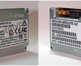 Iridium 9602 Tracking Transceiver - Alternate Angle Image