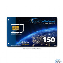 Iridium 150 Minute 2 Month Prepaid SIM