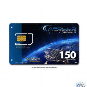 Iridium 150 Minute 2 Month Prepaid SIM