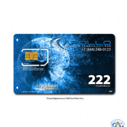 Iridium 222 Minute 1 Year Prepaid SIM