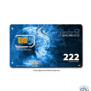 Iridium 222 Minute 1 Year Prepaid SIM