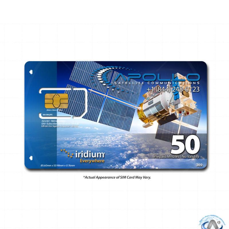 Iridium 50 Minute Prepaid Voucher