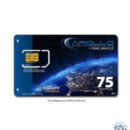 Iridium 75 Minute 30 Day Prepaid SIM