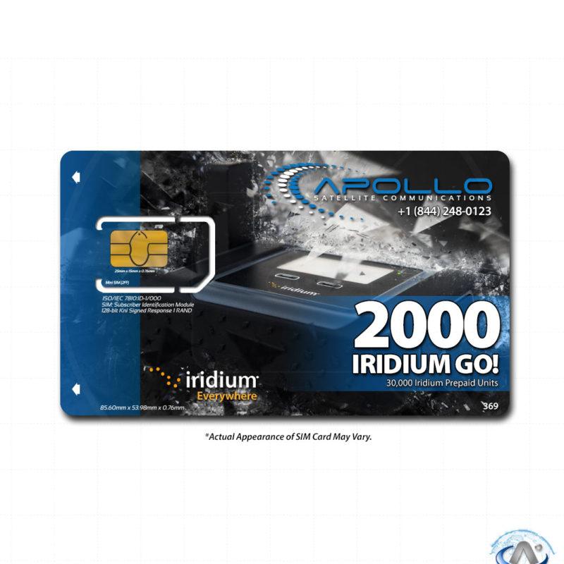 Iridium GO Prepaid 2000