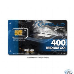 Iridium GO Prepaid Service - Product Feature