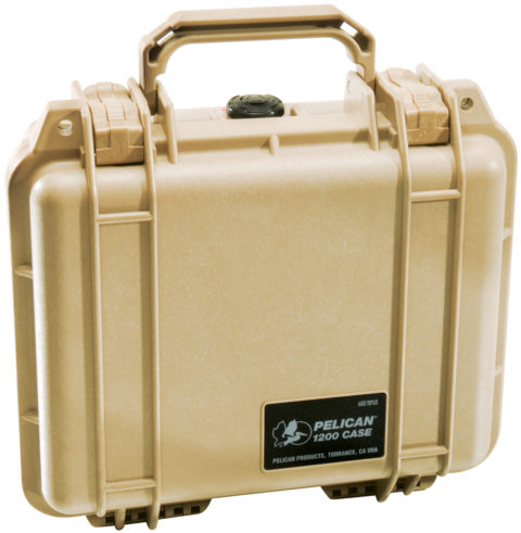 Pelican 1200 Hard Case - Product Upright Image