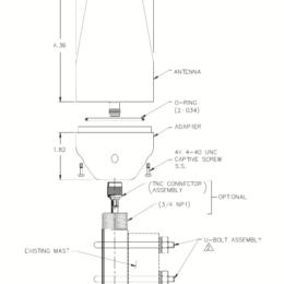 Iridium Passive Antenna Specs