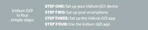 Iridium GO! Quick Start Guide - Image