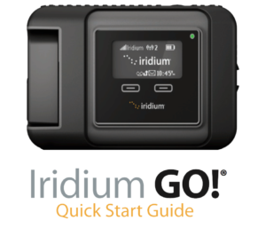 Iridium GO! Quick Start Guide Top Image