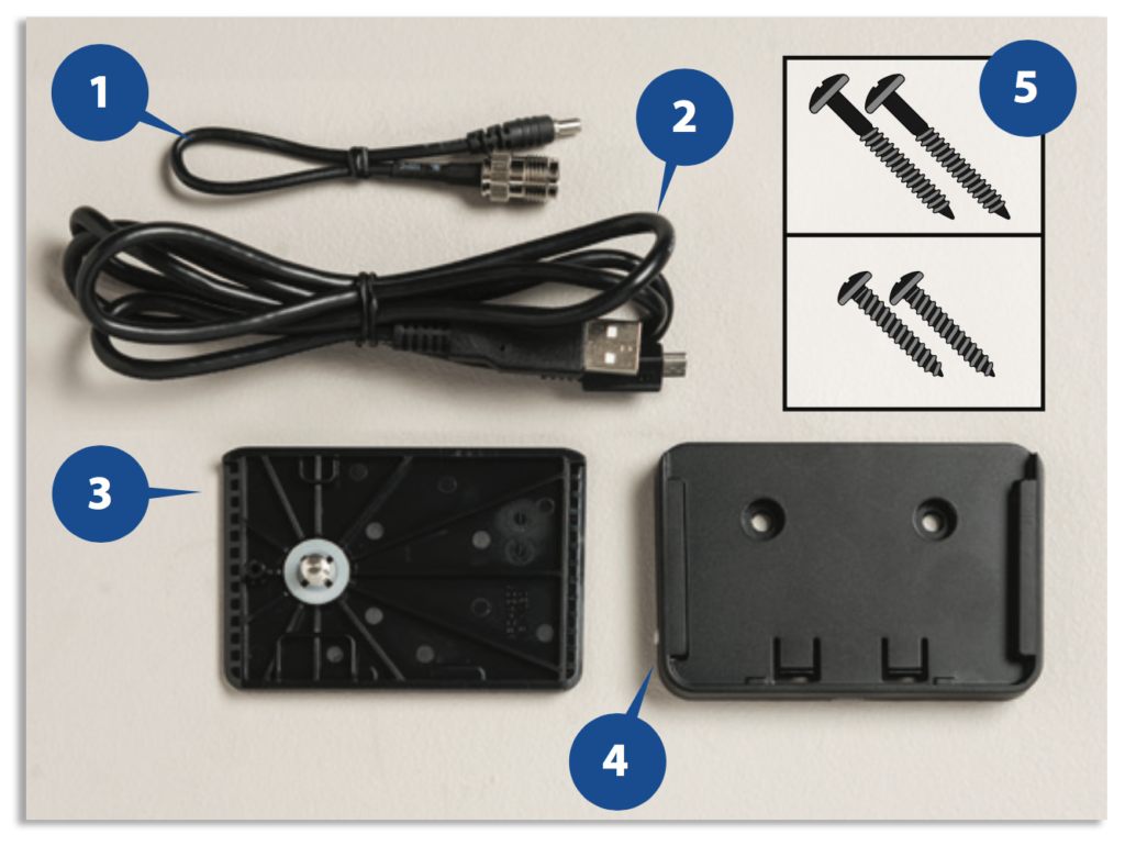 Iridium GO! Wall Mounting Instruction Guide - Wall Mount Hardware