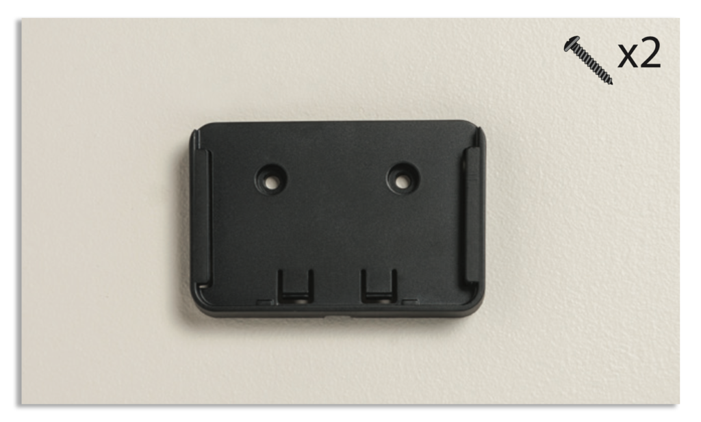 Iridium GO! Wall Mounting Instruction Guide - Bracket Placement
