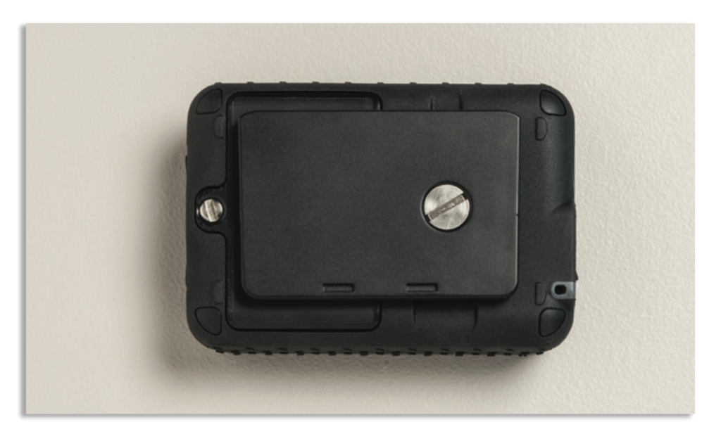 Iridium GO! Wall Mounting Instruction Guide - Mounting Plate Installed