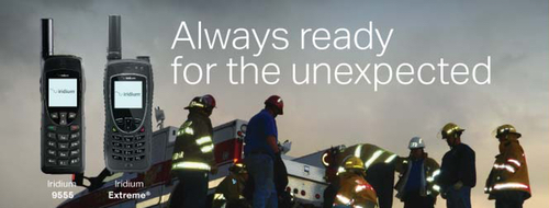 Iridium Disaster Preparedness - Iridium Rebate Program Image