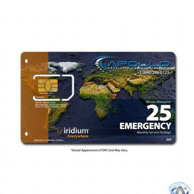 Iridium Emergency Package
