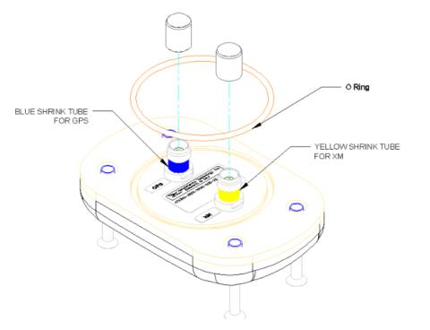 AERO AT2300-326 Aviation Antenna - Illustration