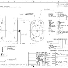 AERO AT575-143 Aviation Antenna - Blueprint