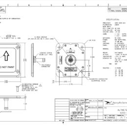AERO AT4300-3 Aviation Antenna - Blueprint