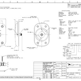 AERO AT575-343 Aviation Antenna - Blueprint