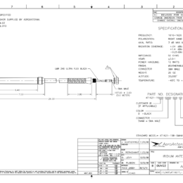 AERO AT1621-15 Iridium Antenna - Product Feature