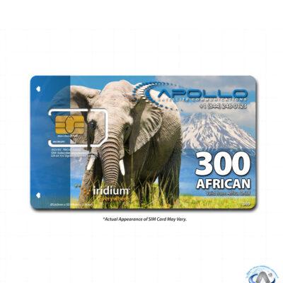 Iridium African 300 Minute Prepaid SIM