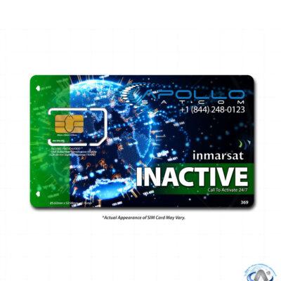 IsatPhone Inactive Inmarsat Prepaid SIM Card