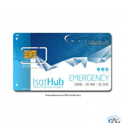IsatHub Emergency Monthly iSavi Postpaid Service