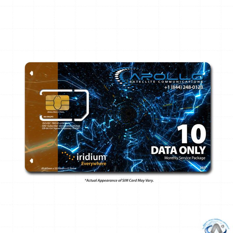 Iridium Data Only Package