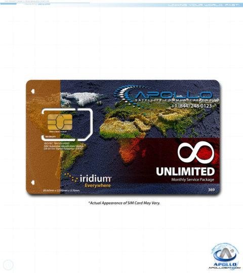 Iridium UNLIMITED Package