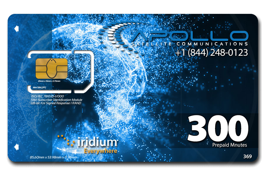 SIM Grace Period - Iridium Prepay Card