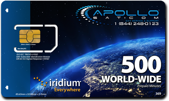 Hurricane Satellite Comms - SIM Card
