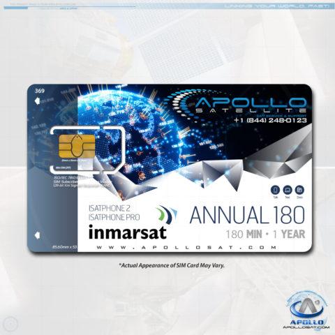Isatphone Global 180 Annual Plan