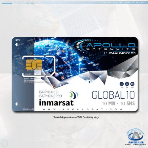 Isatphone Global 10 Monthly Plan