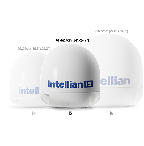 Intellian i5 - Device Image