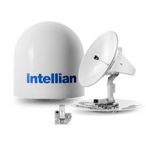 Intellian t100W/t100Q Satellite TV Intell-t100w