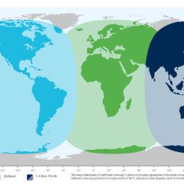 Inmarsat IsatPhone Coverage Map