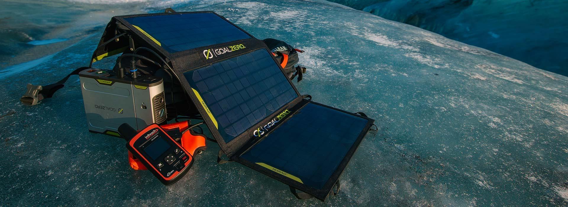 Goal Zero - Portable Solar Panels