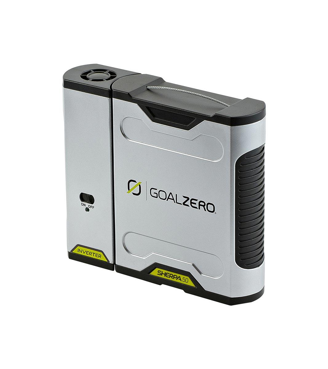 goal zero sherpa 50 recharger apollo satcom. Black Bedroom Furniture Sets. Home Design Ideas