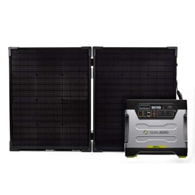 Yeti 1250 & Boulder 100 Briefcase Solar Kit - ProductFeature