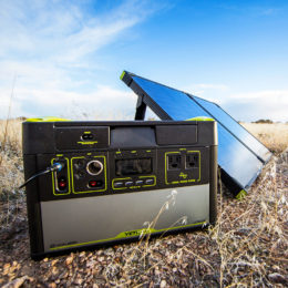 Yeti 1400 Solar Generator Kit with Boulder 100 Briefcase